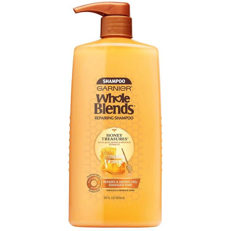 Whole Blends Honey Treasure Shampoo 28 floz front