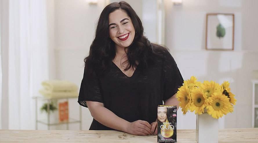 Olia Ammonia Free Permanent Hair Color Light Brown Garnier
