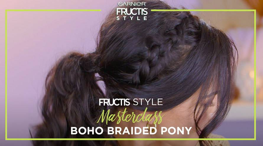 Ponytail Hairstyles Tips How To Do A Ponytail Garnier