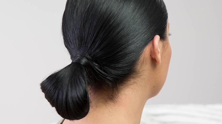 Diy Low Bun Hair Tutorial Tips Tricks Garnier