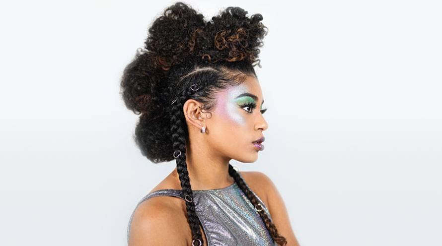 Alien Hair Galactic Girl
